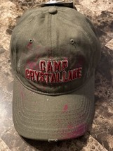 Friday the 13th Camp Crystal Lake Frayed Hat Cap New With Tags - $24.74