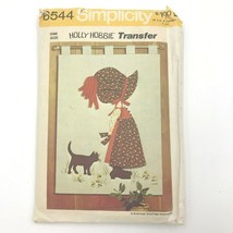 Vintage Simplicity 6544 Hollie Hobbie Wall Art UNUSED Craft Sewing Patte... - $9.95