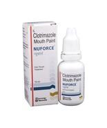 Anti fungal Mouth Paint Mouth thrush Nuforce Cl0trimaz0le 1% 15ML Exp- 2... - $8.99+