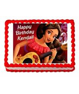 Princess Elena of Avalor Edible Cake Image Cake Topper - $8.98+