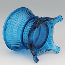 Vintage Viking Bluenique Glass Pot Bellied Stove Glimmer Fairy Light image 6