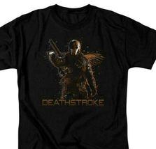 Deathstroke T-shirt Green Arrow DC comics TV show superhero villain graphic Tee image 2