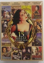 15 Great Cinema Movie DVD 2Disc Box Set classic collection Jane Eyre Mac... - $8.84