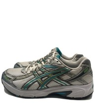 ASICS GEL KANBARRA 4 WOMEN'S WHITE GREEN BLUE RUNNING SNEAKERS T975N SIZ... - $27.72