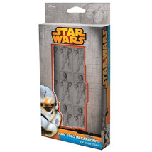 Classic Star Wars Han Solo In Carbonite Ice Cube Tray with 9 Cube Slots ... - $14.46