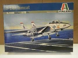 NEW MODEL- ITALERI MODEL KIT NO.1156 F-14A TOMCAT- 1:72- NEW- W55 - $20.78