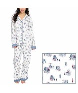 Munki Munki Unisex Pajamas Set Flannel Men Women 2-Piece Costco Theme Pl... - $42.99+
