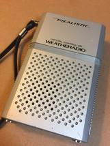 Vintage Realistic Crystal Controlled Hand-held Weatheradio (Radio Shack) image 3