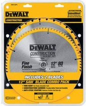 DEWALT 12-Inch Miter Saw Blade, Crosscutting, Tungsten Carbide, 80-Tooth... - $80.95