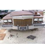 1987 1988 1989 BROUGHAM FRONT BUMPER USED WEAR ORIGINAL CADILLAC - $445.49