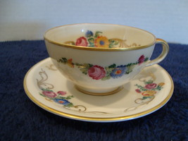 Rosenthal China white porcelain demitasse cup and saucer circa 1945-1953 - $25.00