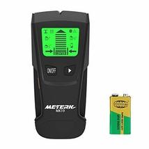 Meterk Stud Sensor with Large LCD Display, Stud Finder Wood Studs Center... - $18.38