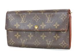 Authentic LOUIS VUITTON Sarah Long Wallet Monogram Zippered Coin Purse #... - $219.00