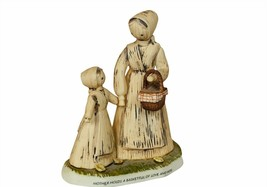 Jesse Country Harvest Figurine Enesco Mother Love Hope 1982 gift decor b... - $24.70