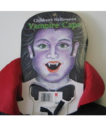 Child's Vampire Cape Halloween Costume, NEW UNUSED - $4.99