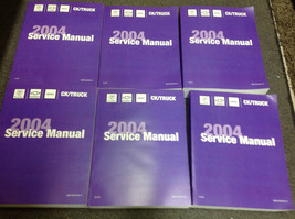2004 Chevy Avalanche & Suburban Truck Service Shop Repair Manual Set New Oem 04 - $495.00