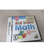 Kids Learn Math -- A+ Edition Nintendo DS Game Educational Kids Rated E ... - $12.99