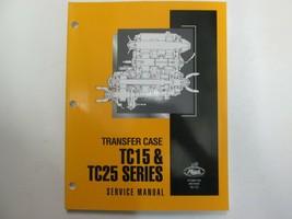 2000 Mack Lkws Transfer Schutzhülle TC15 & TC25 Serie Service Reparatur ... - $49.49