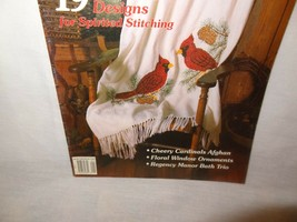 Cross Stitch Magazine Patterns 19 Delightful Designs 1992 Cheery Cardinals - $9.99