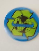 Lake County Recycles Pinback Button Pin - $11.63