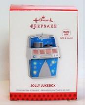 Jolly Jukebox 2013 Hallmark Magic Cord Christmas Tree Ornament Light Music - $29.90