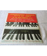 Hammond Organ Hits Of 1967 In the Ken Griffin Style - $3.99