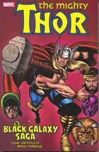 Thor Black Galaxy Saga 1 TPB Marvel 2011 NM 1st Print 419-425 DeFalco Frenz - $8.65