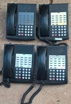 Lot of (4) Lucent Avaya Euro Partner 18 Black Phone Non-Display 7311h13F... - $89.05