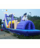 Cheap Bouncy Castle Giant Adult Challenge Inflatable Obstacle Course Game - $2,489.00
