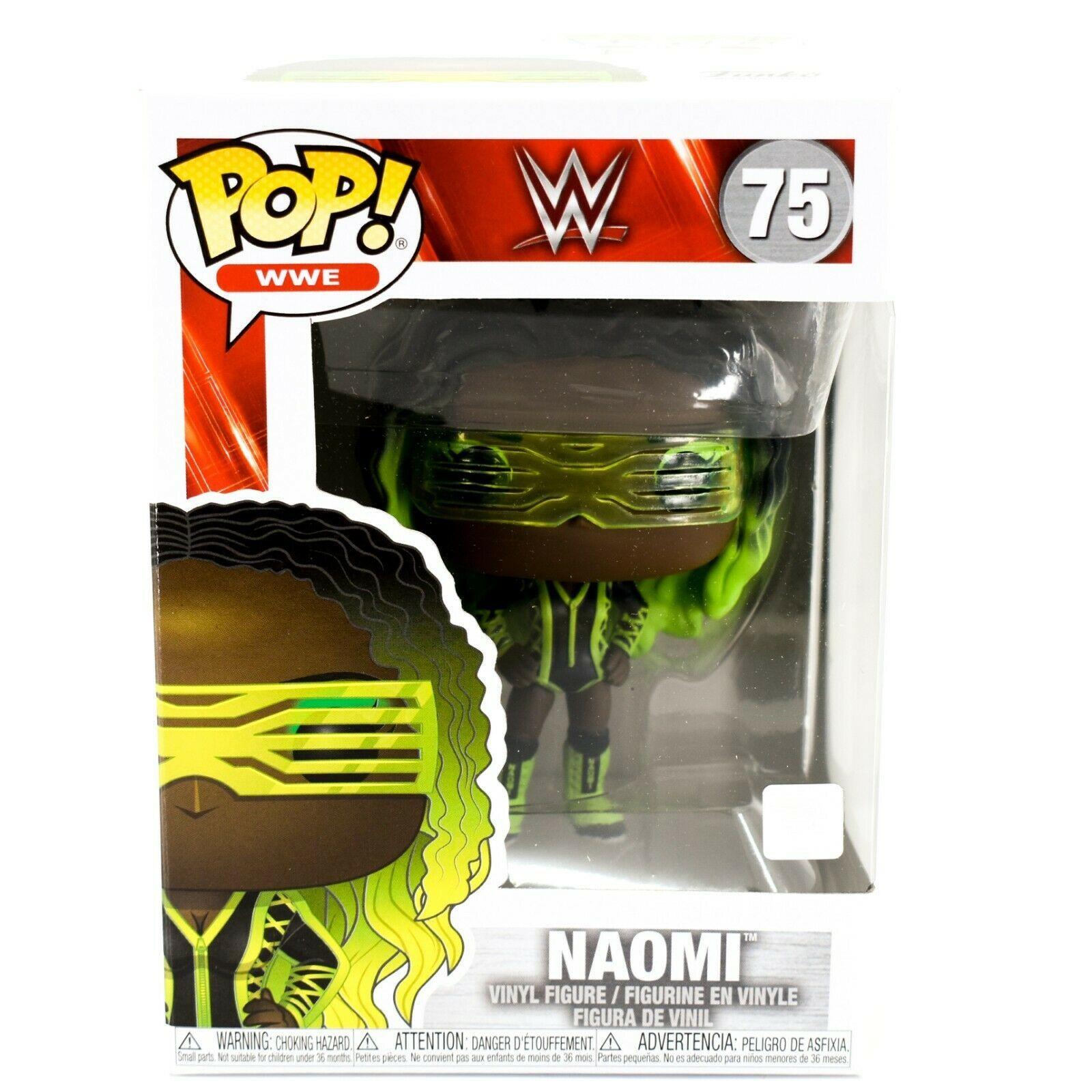 Funko Pop! WWE Naomi Official Licensed Wrestling Vinyl Action Figure #75