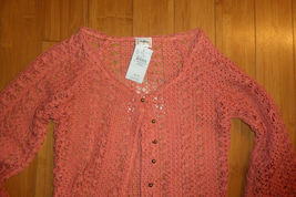 Daytrip The Buckle Cropped Cardigan Sweater sz XS NWT image 8