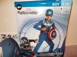 Captain America The Winter Soldier Movie 2 Basic Child Costume S(6)  - $17.99