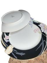 "Mikasa Charisma Black / Dinner Plates 10 3/4"" / L9050 /(6 Plates Available) - $19.99"