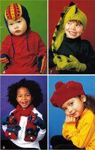 Crochet Childs Dinosaur Jester Bear Helmet Cap Mitts Gloves Scarf Pattern - $12.99