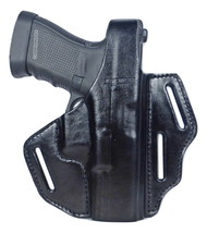 Tactical Scorpion Gear 3 Slot Thumb Break OWB Leather Holster: Fits Taur... - $34.60