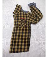 Orange And Black Long Sleeve Shirt Size 8 - $15.99
