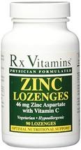 RX Vitamins Zinc Lozenges 46mg Lozenges, 90 Count - $12.86