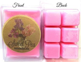 Mels Candles & More Sweet Pea 3.2 Ounce Pack of Soy Wax Tarts - Scent Br... - $3.95