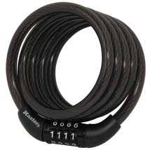 Master Lock Cable Lock, Standard Combination Bike Lock, 4 ft. Long, Blac... - $9.92