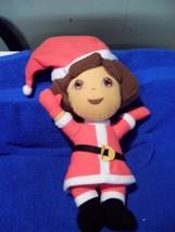 """Dora Plush Nanco In Santa Suit 13"""" Tall 2007 - $9.32"""