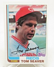 1982 Topps Baseball Card #30 Tom Seaver Cincinnati Reds Hof VG/NM - $3.46