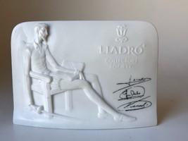 Lladro Collectors Society Commemorative Signed Plaque Don Quixote Bisque... - €11,86 EUR