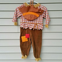 Scarecrow Costume Dress Up 24 Months Pretend Play - $14.99