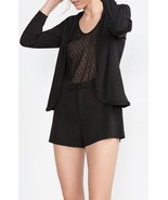 NWT Zara Jumpsuit Romper with attached Blazer Jacket Top Shirt Sz M - $27.87