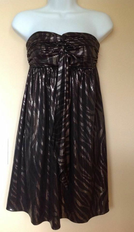 Express Black Dress  size X-small (New with tags) image 3