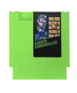 Luigi's chronicles 72pin 8bit game cartridge nes Nintendo mario - $26.00