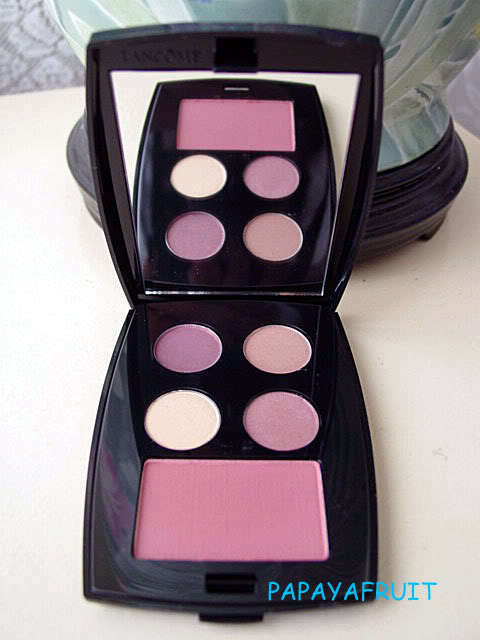 Primary image for Lancome Palette~Blush Eyeshadow APLUM AMBER MYSTIQUE GARNET SENSATION EXHIBITION