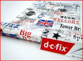 DC Fix Self Adhesive 'Great Britain' Design Vinyl 17.7'' x 59''  343-1015 - $15.99