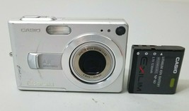 Casio EXILIM ZOOM EX-Z40 4.0MP Digital Camera - Silver *GOOD/TESTED* - $14.84