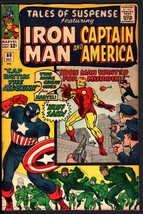TALES OF SUSPENSE #60-1964-Captain America-2ND HAWKEYE-HIGH GRADE COPY - $200.06